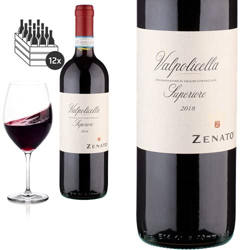 12er Karton 2018 Valpolicella Superiore Zenato Azienda Vitivinicola - Rotwein