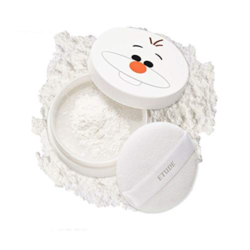 ETUDE HOUSE Sebum Soak Powder 5g #2 Olaf   Zero Sebum   Long Lasting, Transparent, Lightweight Powder for a Flawless Matte Finish