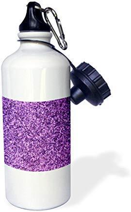 GFGKKGJFD624 Get Your Sparkle on Fun Girly Pink Faux Glitter Textura Gráfica Glam Girls Humor-Bling Botella de agua deportiva de aluminio divertido para hombres, mujeres niños regalos de Navidad Bithtday