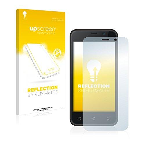 upscreen Entspiegelungs-Schutzfolie kompatibel mit Archos 40 Neon – Anti-Reflex Bildschirmschutz-Folie Matt