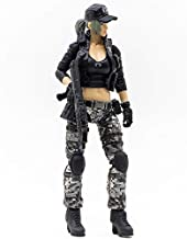 JoyToy 1/18 Soldier Action Figures 4-Inch CF LieHu B Female Anime Figure Dark Source Cross Fire Game Collection Action Figure Military Model Toys