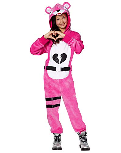 Spirit Halloween Kids Fortnite Plush Cuddle Team Leader Costume - L/XL
