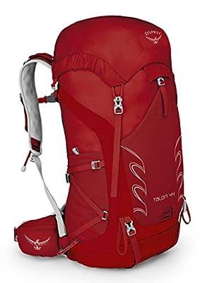 Osprey Talon 44 Men's Hiking Backpack, Martian Red, Medium/Large