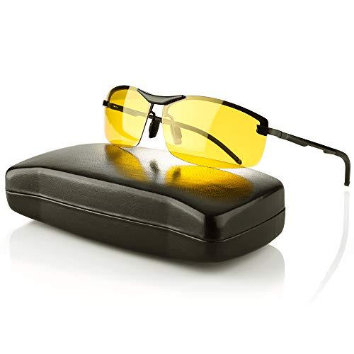 IPOW Gafas de sol deportivas anti UV 400, gafas de sol para