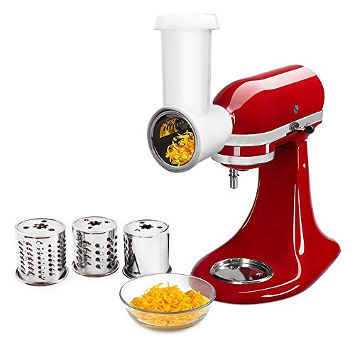 Slicer Shredder Attachment for Stand Mixer,Vegetable Chopper Grater Accessories.