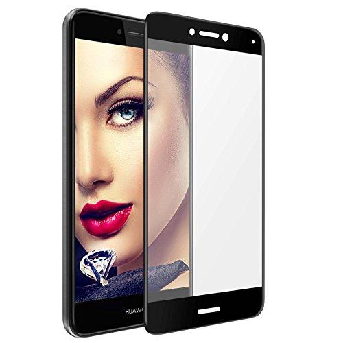mtb more energy® Gewölbtes Premium 5D Schutzglas für Huawei P8 Lite 2017 / P9 Lite 2017 (5.2