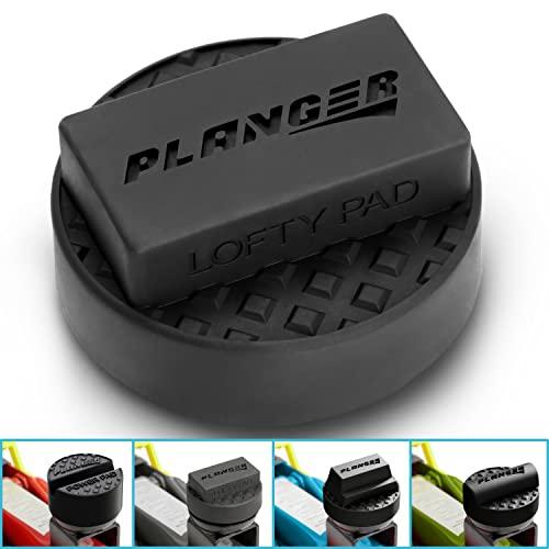 PLANGER ® - Wagenheber Gummiauflage (für BMW, Mini & Opel) auf Rangierwagenheber - Schützt PKW und SUV durch Form und Gummi