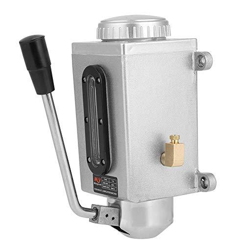 Zouminyy 8m3/h 15kgf/cm² Lubricación Manual Bomba de aceite Lubricación manual 500CC CNC 4mm Puerto de salida doble