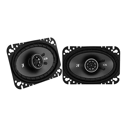 Purchase Kicker 43CSC464 CSC46 4x6-Inch Coaxial Speakers, 4-Ohm
