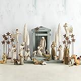 Willow Tree 26005 Figur Weihnachtsartikel Heilige Familie, Holz, Natur, 5,1 x 7,6 x 24,1 cm - 5