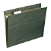 Smead Hanging File Folder with Tab, 1/5-Cut Adjustable Tab, Letter Size, Standard Green, 50 per Box (64029) (Renewed)
