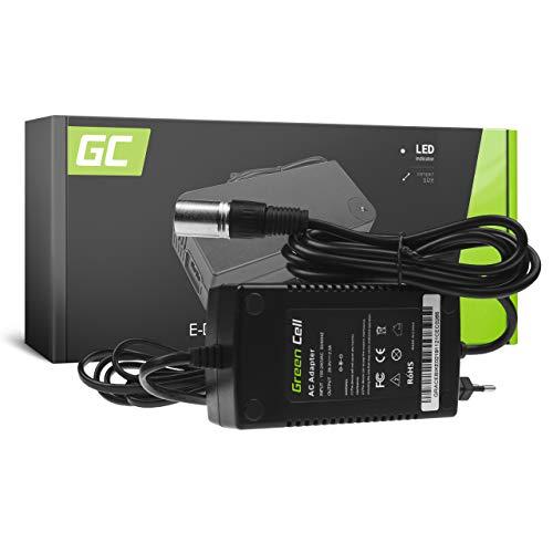 Green Cell® Cargador (29.4V 2A 38W) para Haibike KTM Kalkhoff Flyer Cube...