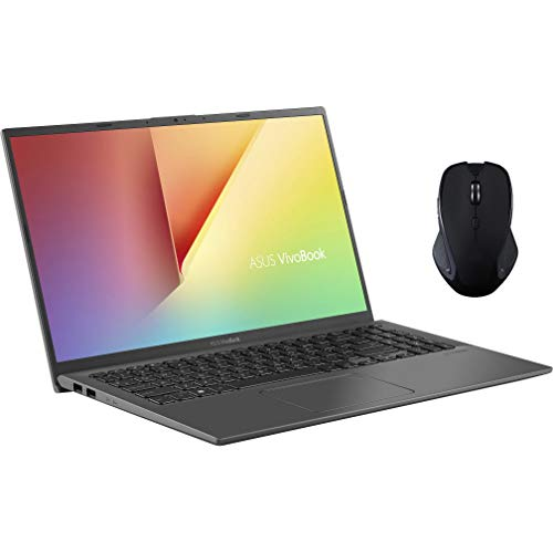 ASUS VivoBook 15 Touchscreen Laptop, 15.6' FHD IPS, Intel Core i7-1065G7, Intel Iris Plus Graphics, 8GB RAM, 512GB SSD, KeyPad, USB-C, HDMI, Mouse, Win 10 QWERTY US Version