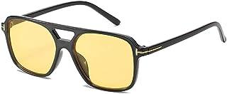 GODYS - Gafas de sol de moda de doble haz para hombre y mujer Europa y América gafas de sol de moda-A