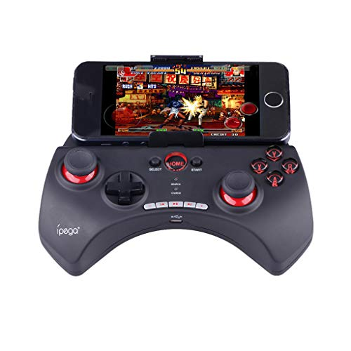 Lorsoul PG-9083 Bluetooth Wireless Gamepad Teleskop-Game-Controller f/ür Android Joystick Pad