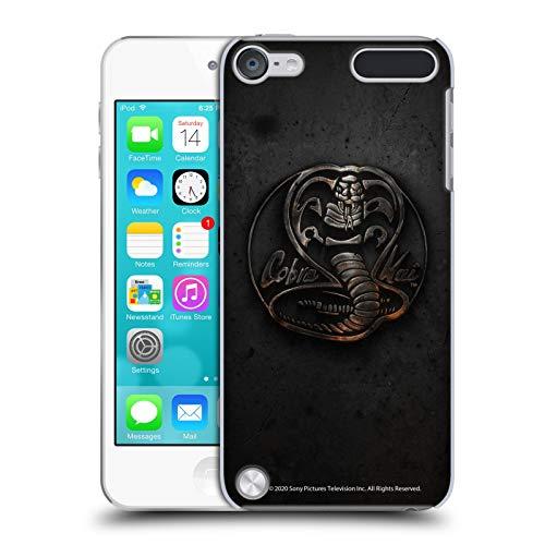 Head Case Designs Licenza Ufficiale Cobra Kai Logo Metallico Grafiche Cover Dura per Parte Posteriore Compatibile con Apple iPod Touch 5G 5th Gen