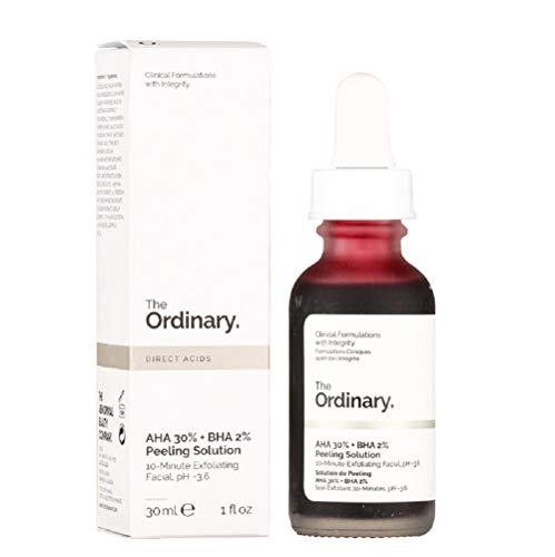 The Ordinary AHA 30% + BHA 2% Solución de Peeling, 30ml