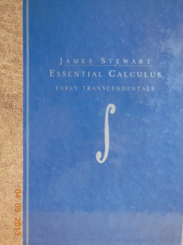 Essential Calculus: Early Transcendentals (Stewart's...