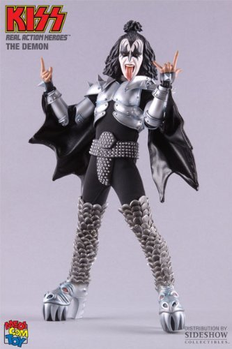 GENE SIMMONS---KISS---THE DEMON (REAL ACTION HEROES)---FIGURE (japan import)