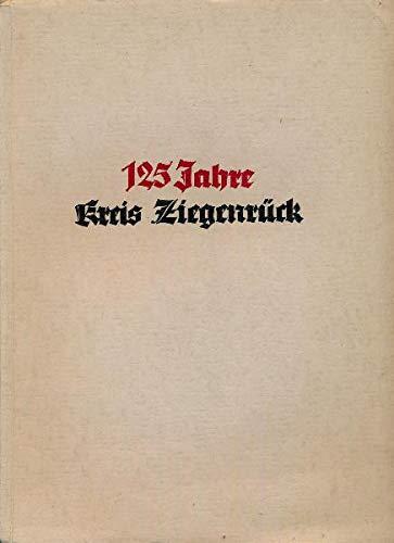 125 Jahre Kreis Ziegenrück