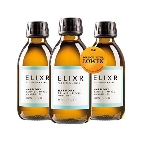 ELIXR Harmony Mundziehöl zum Ölziehen 3er Set aus Die Höhle der...