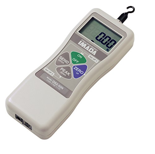 Imada DS2-110 Digital Force Gauge with Outputs, 110 lb Capacity