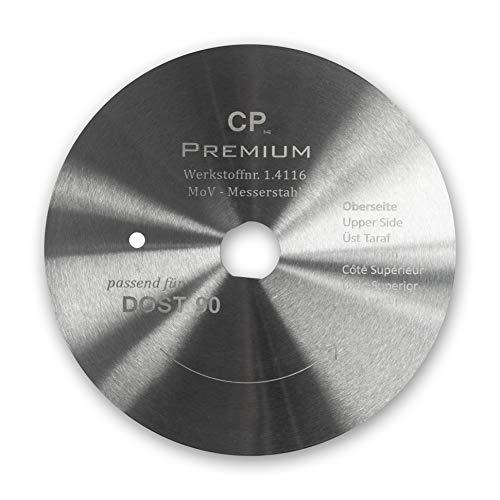Kreismesser Rundmesser Dönermesser,Kebapblade, für Dost 90 mm Glatt
