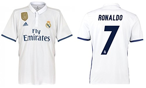 Trikot Herren Real Madrid 2016-2017 Home WC - Ronaldo 7 (M)