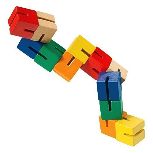 Wooden Puzzle Fidget (4-Pack)