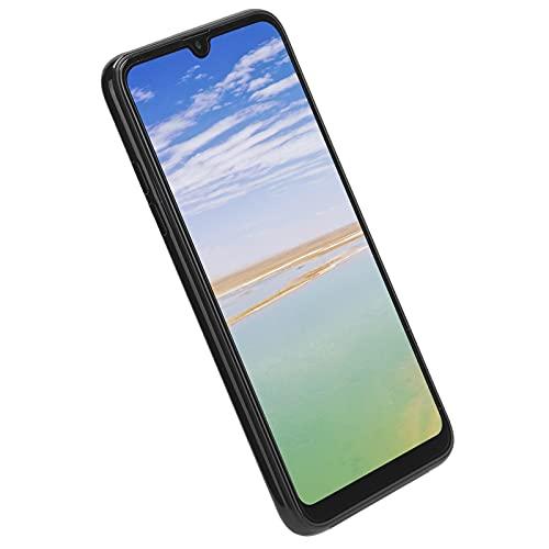 Goshyda Teléfono móvil, Balck Pantalla Grande de 6,5 Pulgadas 1 + 16G Tarjeta Dual Teléfono con Doble Modo de Espera Teléfono Inteligente Multifuncional 4800 mAh Capacidad de la batería Cámara (EU)