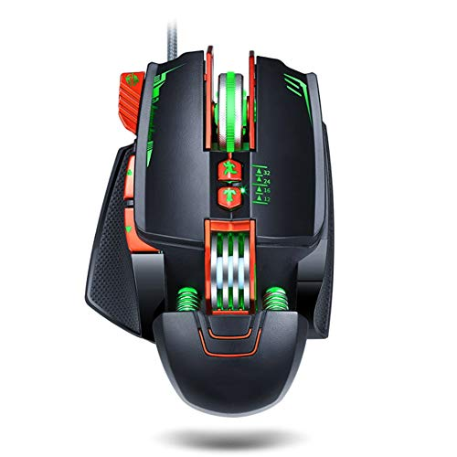Game muis esports mechanische macro definitie muis size Zwart