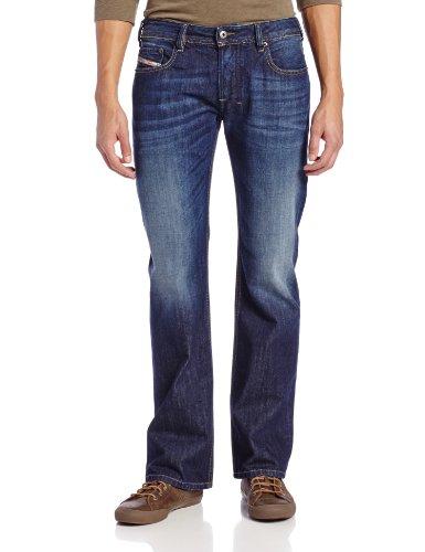 Diesel Herren Jeans Zatiny Slim Micro Bootcut-Bein 0823G - Blau - 31W / 32L