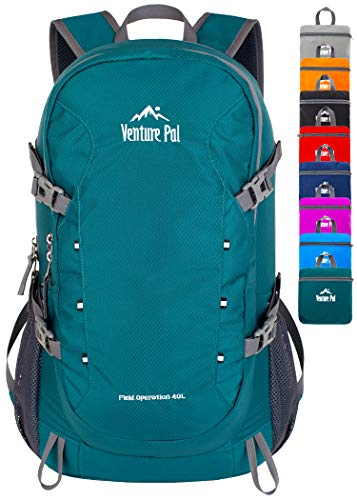 Venture Pal 40L Lightweight Packable Travel Hiking Backpack...