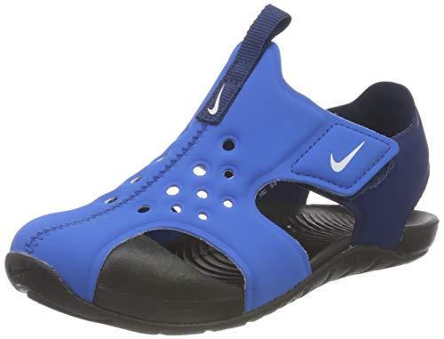 Nike Sunray Protect 2 (TD), Sandali da Ginnastica Unisex-Bambini, Blu (Signal Blue/White-Blue Void-Black), 22 EU