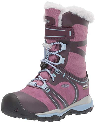 KEEN Winetasting/tuilp, Chaussures de Randonnée Hautes Mixte Enfant, Violet Terradora Winter WP 1019791, 36 EU