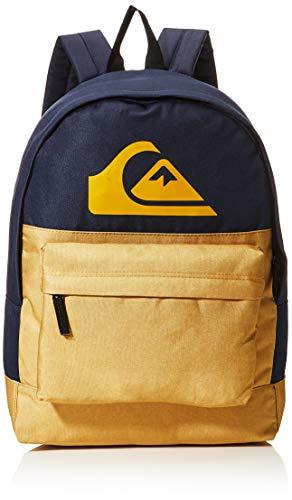 Quiksilver Everyday Backpack Color Block, Mochila. para Hombre, Honey Heather, Einheitsgröße