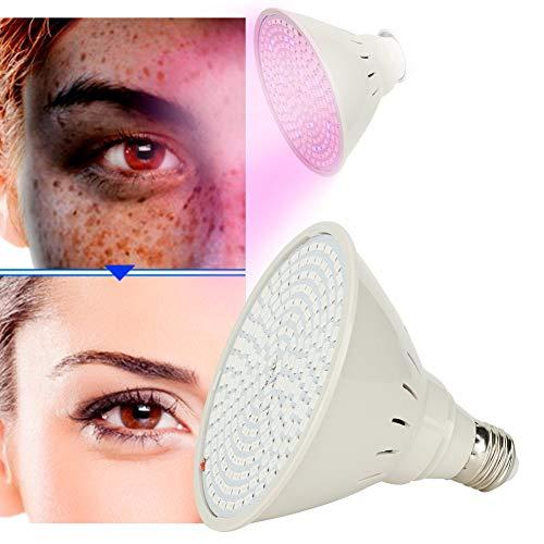 Huidverjonging LED-schoonheidslicht, 3-kleuren LED Rood/blauw/geel Fotonverjonging Machine verwijdering Whitening Light Lamp Beauty Machine Spa-apparaat Gezichtsschoonheidslamp(Enkele lamp)