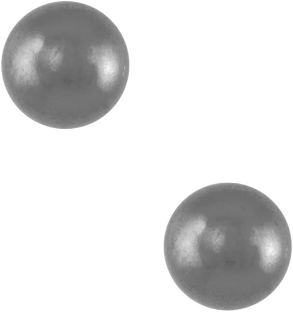 Studex Tiny Tips Stainless Steel Traditional Plain 3mm Ball Childrens Hypo-allergenic Stud Earrings