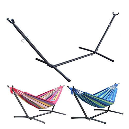 JaneDream 10ft Hammock Stand Universal Multi-Use Hammock with Stand for 2 Person Included Carry Bag Only Stand