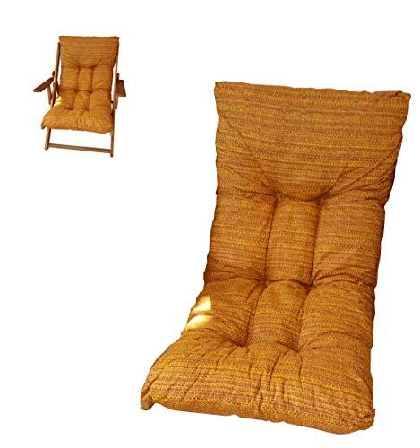 Liberoshopping Coussin rembourré de rechange pour chaise longue, avec tissu anti-déchirure