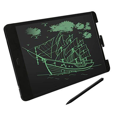 GRDE LCD Tablette Graphique Dessin,Tablette d'écriture 13 Pouces avec Stylet et Interrupteur de Verrouillage,Écriture Plus Claire,pour Enseignants,Étudiants,Designers,Hommes d'affaires etc