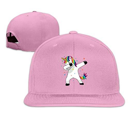 Cute Pink Piglet Mode Unisex lustige magische Einhorn Flache Baseball-Mütze für Männer Frauen Cap Sport Hüte