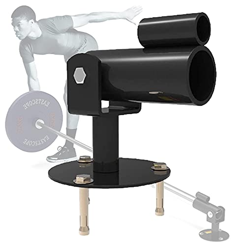 YLKCU Landmine Gym T-Bar Row, Barbell T Bar Row Placa de fijación, Placa de rotación de 360 Grados Inserto de Poste Landmine Fit Barras olímpicas de 1