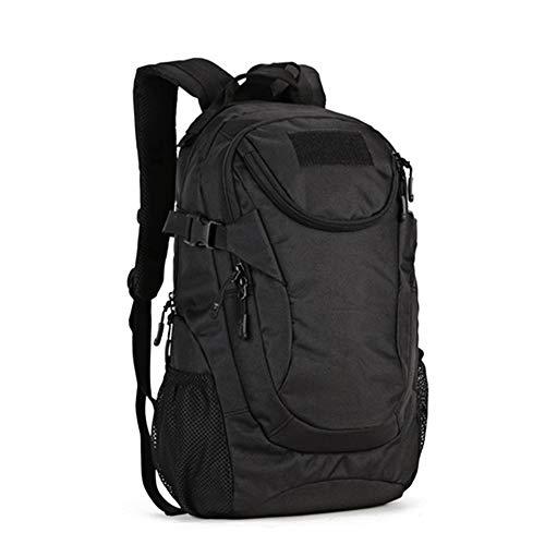 TnXan Rucksack, 25 l, Sport-Rucksack, 14 Zoll / 35,6 cm, Military Outdoor Fishing Hunting Camping Rucksack Hiking Bags Mochila XA38D, schwarz (Schwarz) - ly724321