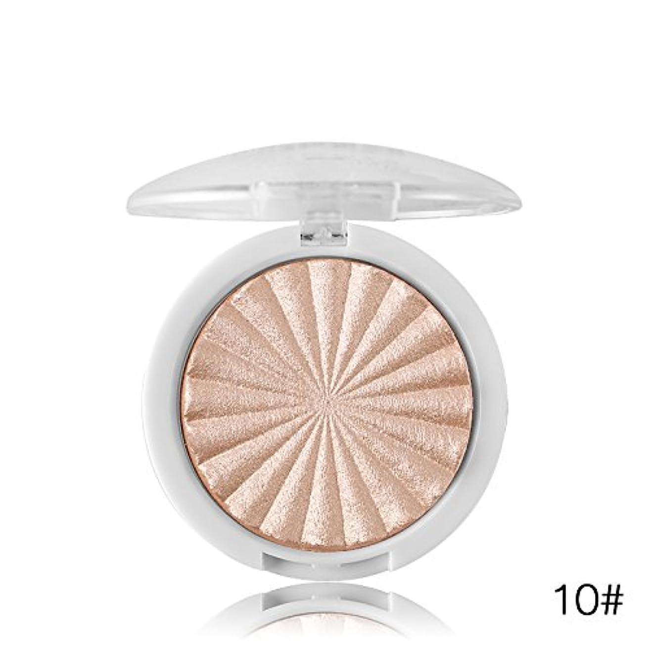 石のバックグラウンドおばさんMiss Rose Illuminator Makeup Shimmer Powder Highlighter Palette Face Base Bronzer Highlight Contour Hailaiter