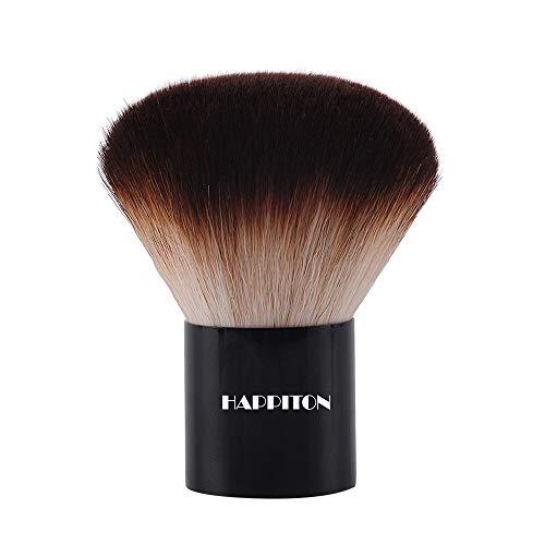 Kabuki Face Brush Foundation Brush for Powder Mineral Foundation Blending Blush Buffing Makeup Brush (Aluminum Handle)