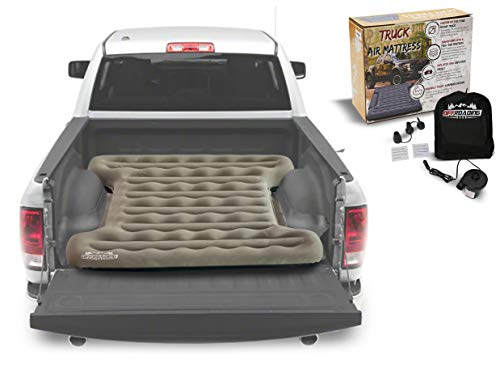 Truck Bed Inflatable Air Mattress, 6 to 6.5 ft Box   Converts to Full Double   F150, Ram, Sierra, Silverado
