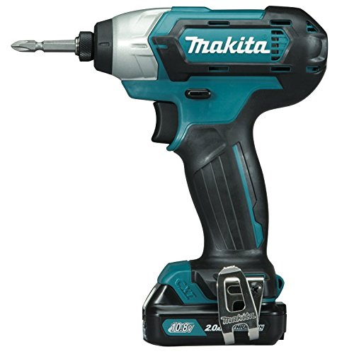 Makita TD110DWAE 12V Max Li-Ion CXT Impact Driver Complete with 2 x 2.0 Ah Li-Ion Batteries and Charger Supplied in A Carry Case
