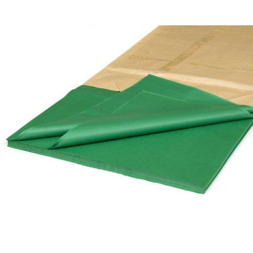 MTGL C43 Lot de 10 feuilles de papier de soie Vert