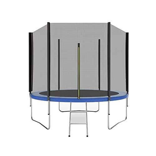 Bedrails HUO Outdoor Trampoline Met Hek Mesh En Ladder Kindertrampoline Een Volledige Set Inclusief Een Springboard, Veiligheidsnet En Rand Cover